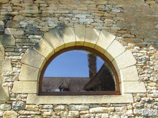 Création de la fenêtre demi-lune