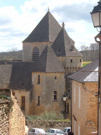 Le chateau vu d'en haut