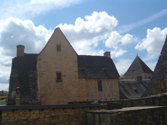 une maison typique du Périgord noir